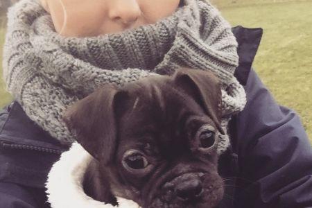 Four Legged Friends Petcare -  Kelly with cute dog.jpg